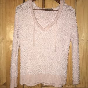 Popcorn Sweater With hood size Small